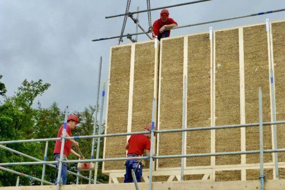 Meer bouwen met stro: 'Het is een kwestie van geduld'